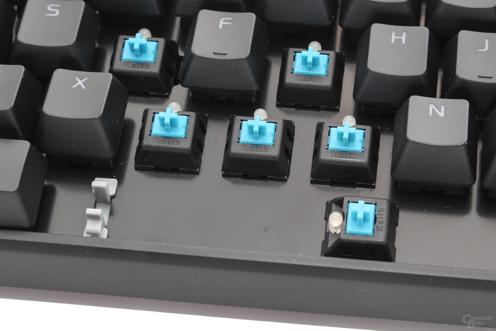 """Kailh Blue als """"Tt eSports Certified Blue"""""""