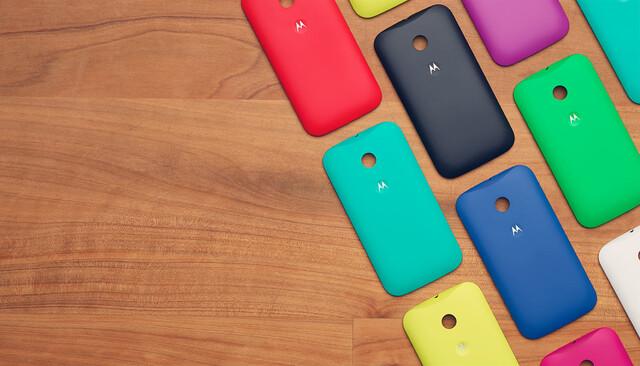 Motorola Shells für Moto E