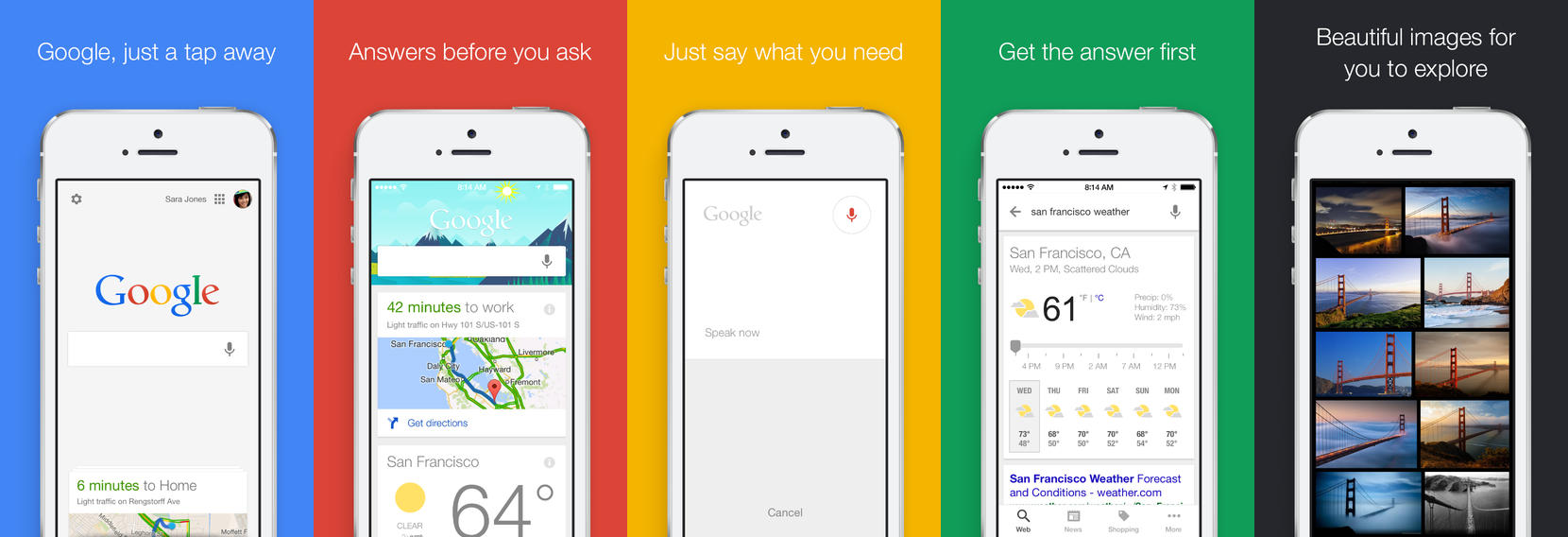 Google Search 4.0.0 für Apple iOS