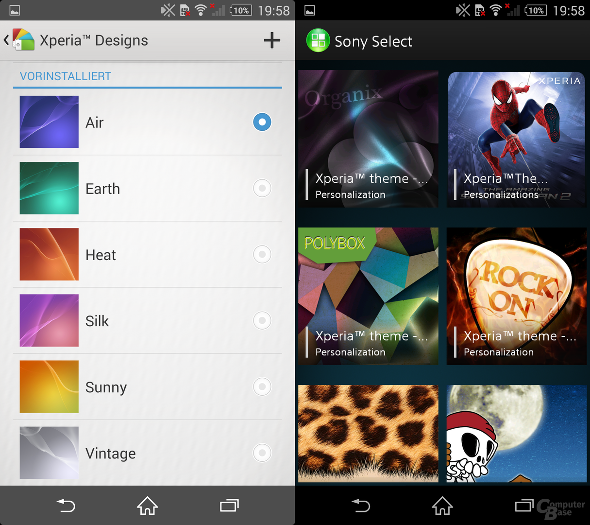 Xperia Designs & Sony Select