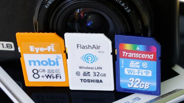WiFi-SD-Speicherkarten im Test: WLAN-Speicher für Kameras zum Nachrüsten