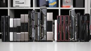 Grafikkarten-Rangliste 2021: GPU-Vergleich mit GeForce RTX und Radeon RX für September