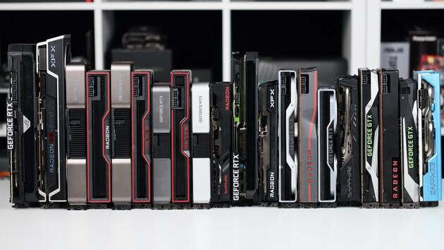 Grafikkarten-Rangliste: GPU-Vergleich mit Radeon RX 580 für Mai 2017