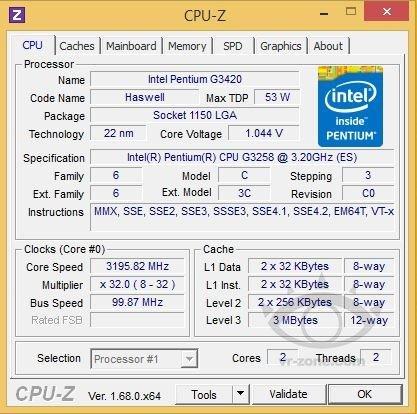 Pentium G3258 als Anniversary Edition