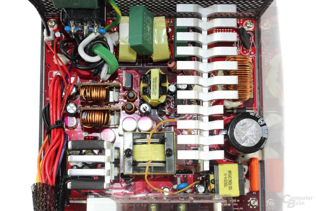 Cooler Master V450S – Überblick Elektronik