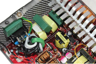 Cooler Master V450S – Eingangsfilterung