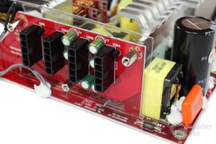 Cooler Master V450S – Kabelmanagementplatine mit Filterungskondensatoren