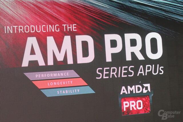 AMDs Pro APUs mit Zusagen zur Langlebigkeit