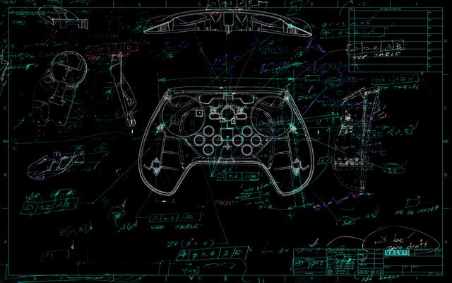 Aktueller Sketch des Steam Controllers