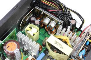 Antec TruePower Classic TP-550C: Sekundärseite im Detail