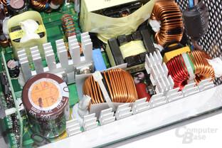 Antec TruePower Classic TP-550C: Primärbereich im Detail
