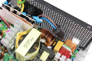 Antec TruePower Classic TP-550C: Eingangsfilterung
