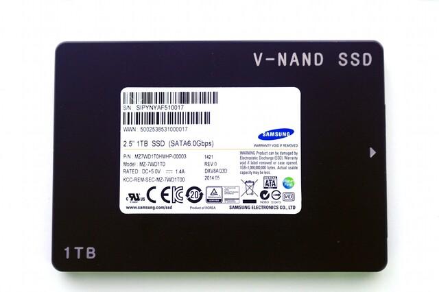 Samsung-SSD mit 3D V-NAND der 2. Generation