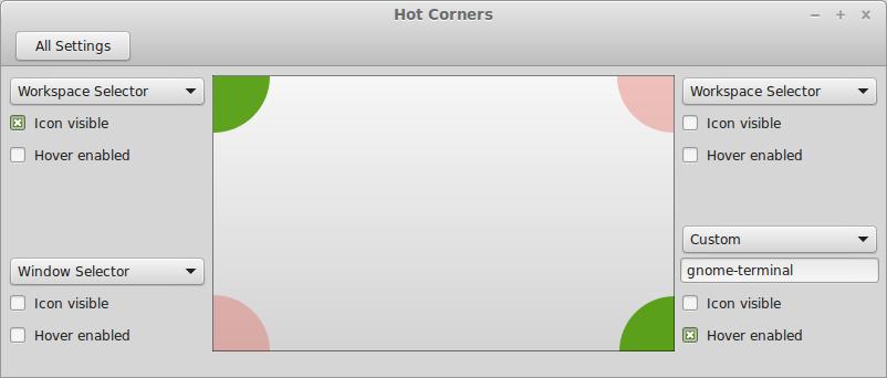 Cinnamon Hot Corners