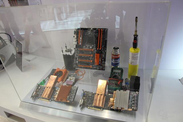 Computex 2014: Gigabyte mit Stickstoffkühlung