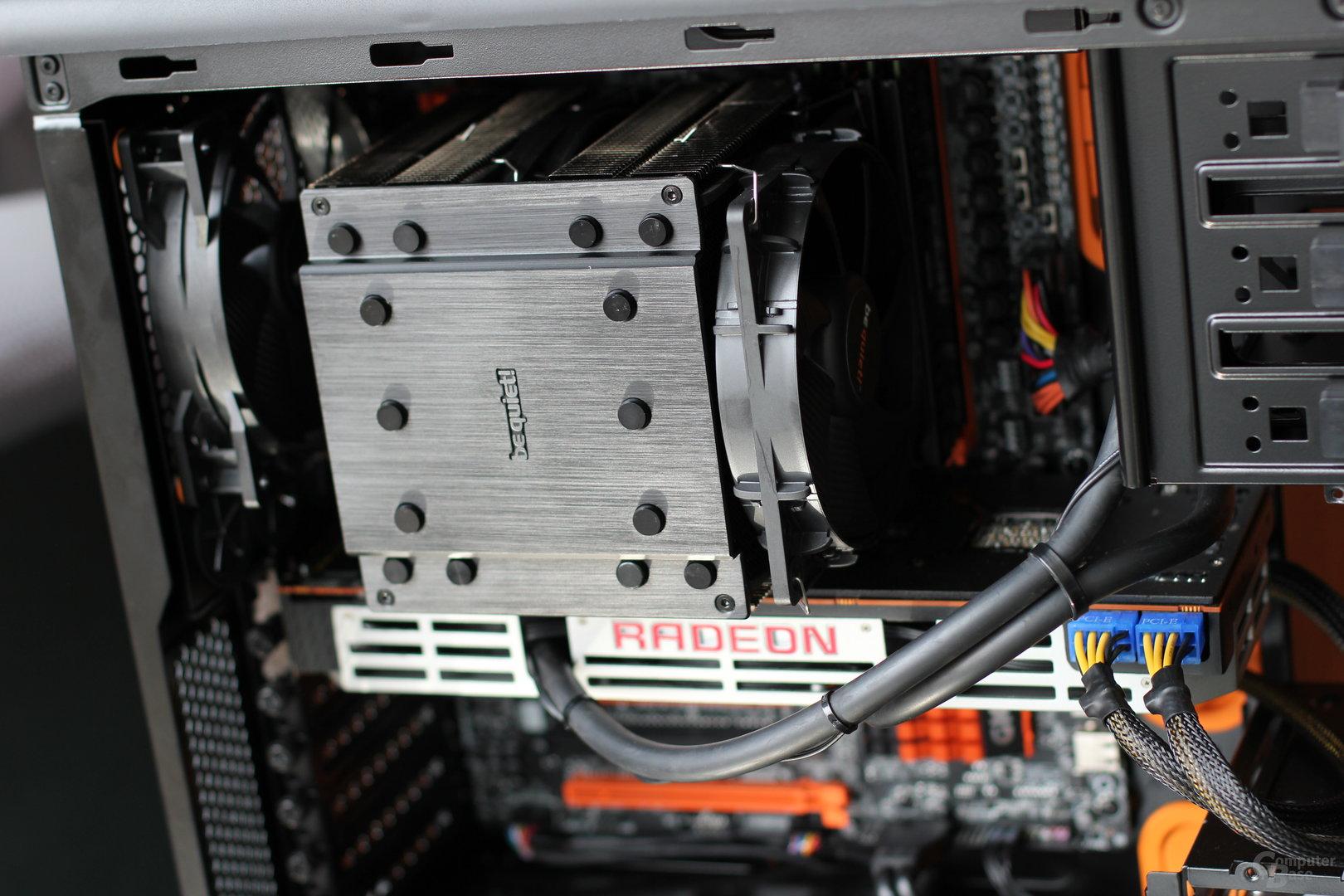 CPU-Kühler bis 170 mm sind möglich