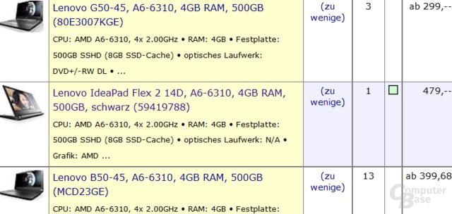 """Erstes Notebook mit AMD """"Beema"""" erhältlich"""