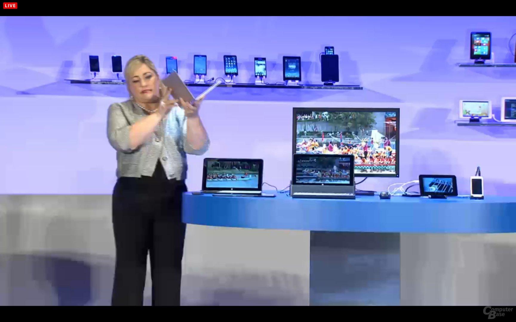 """Intel zeigt Referenztablet mit Core M alias """"Broadwell"""""""