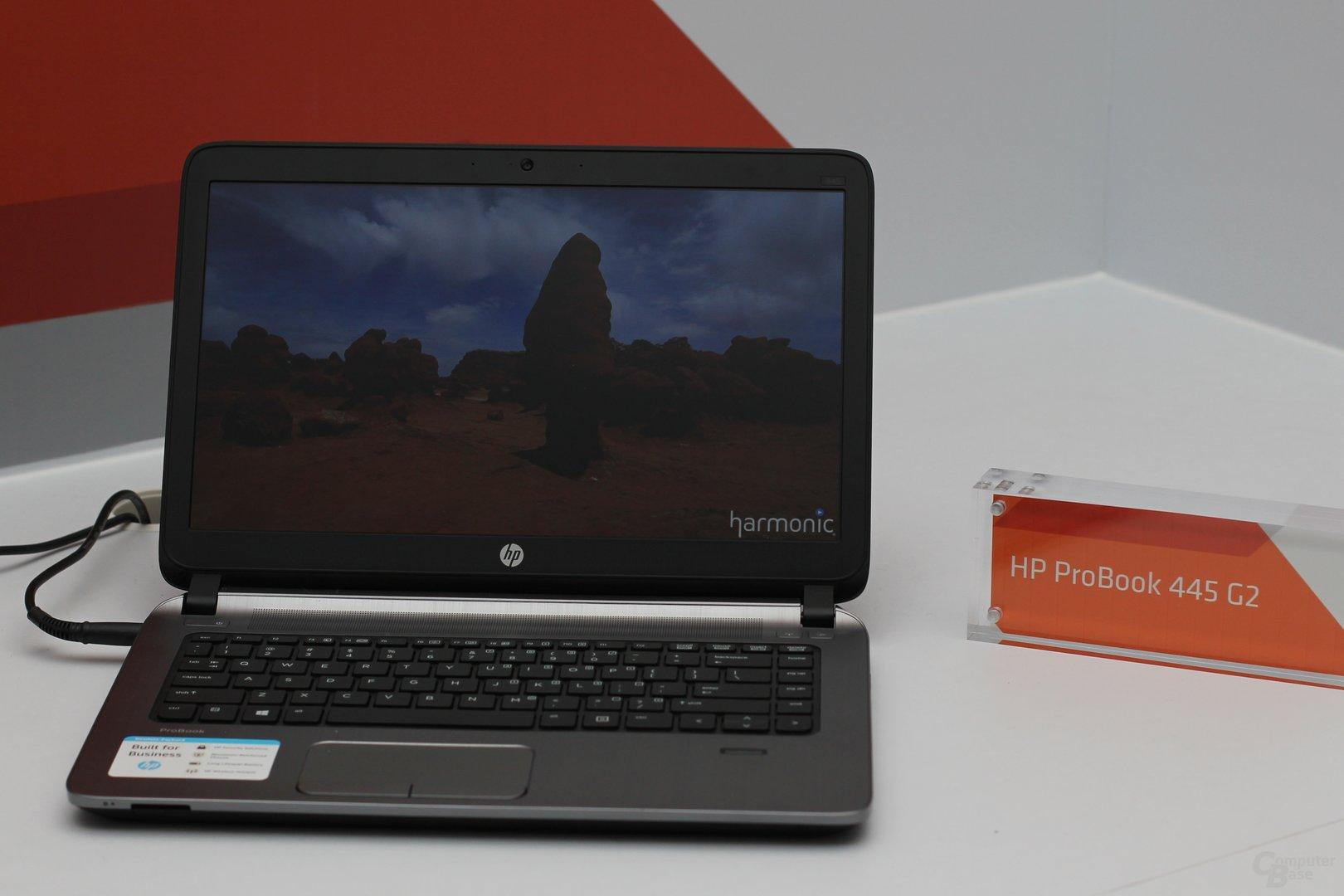 HP ProBook 445 G2 mit A6 Pro-7050B