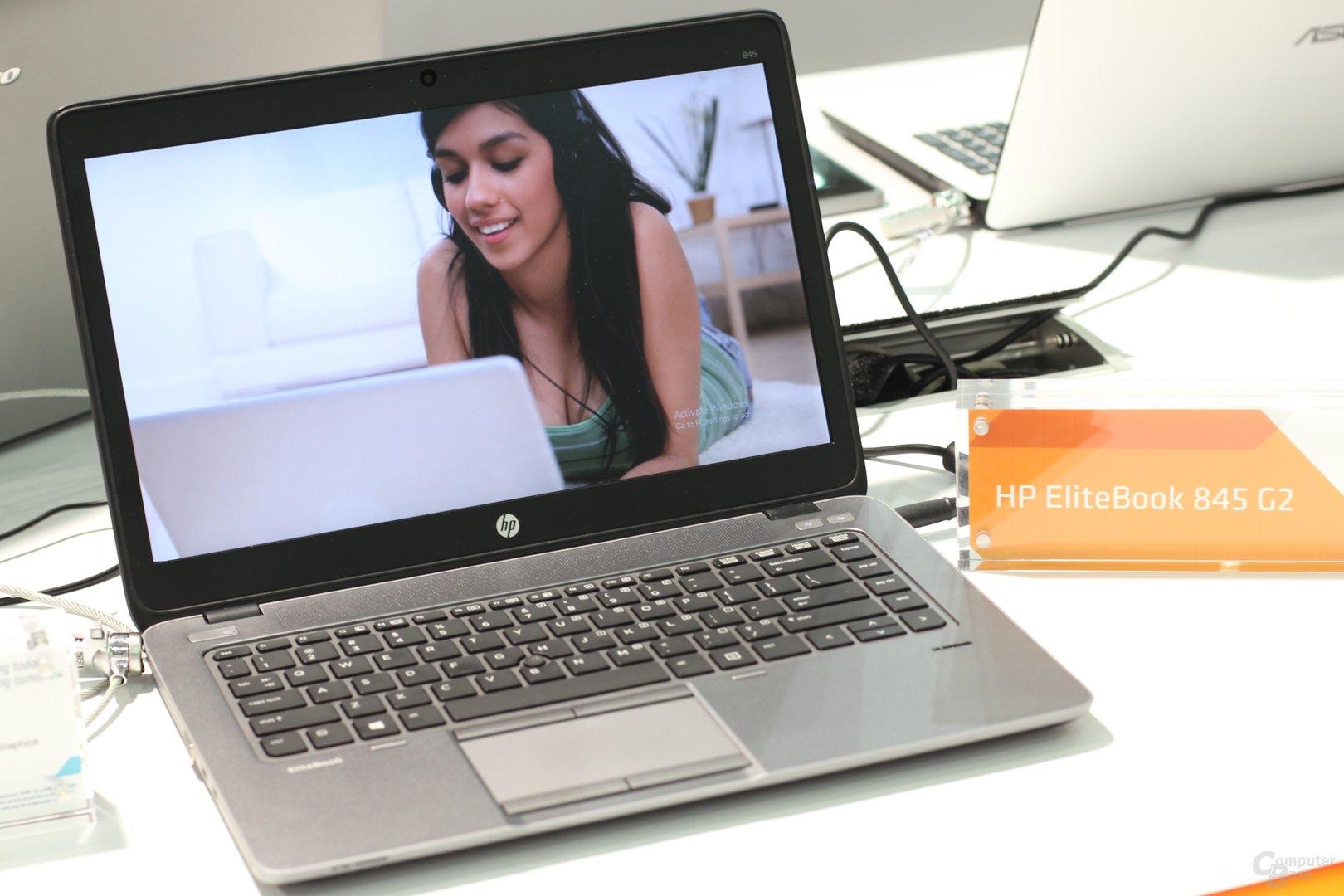 HP EliteBook 845 G2 mit A10 Pro-7350B