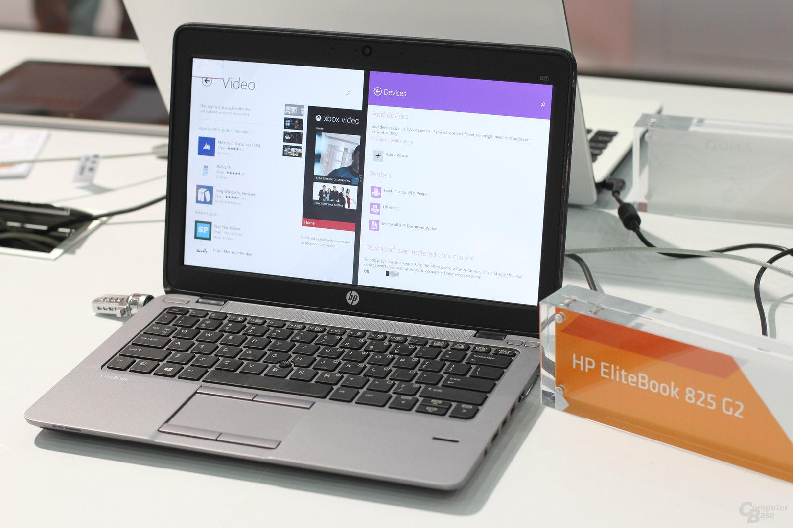 HP EliteBook 825 G2 mit A10 Pro-7350B