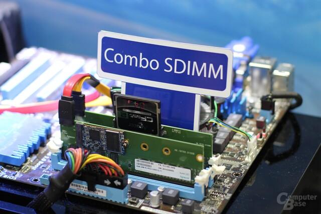 Apacer Combo SDIMM mit RAM und M.2-Slot