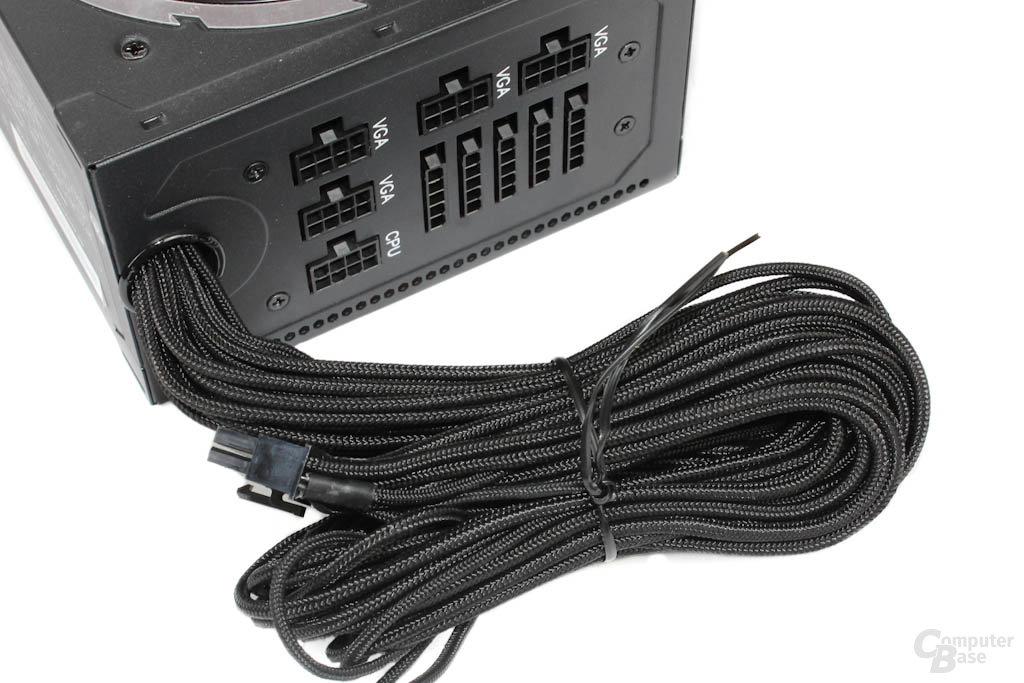 BitFenix Fury 550W – ATX-Kabelstrang im Detail