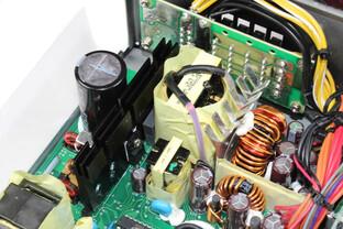 FSP Aurum 92+ 550 Watt - Kabelmanagementplatine