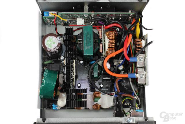 Corsair RM550 - Überblick Elektronik