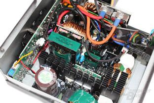 Corsair RM550 - Elektronik im Detail