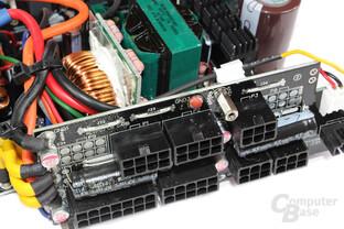 Corsair RM550 - Kabelmanagementplatine