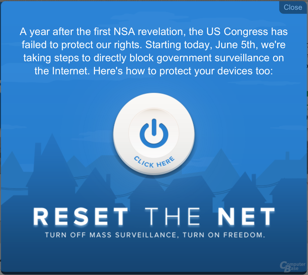 """""""Reset the Net""""-Aktionstag"""