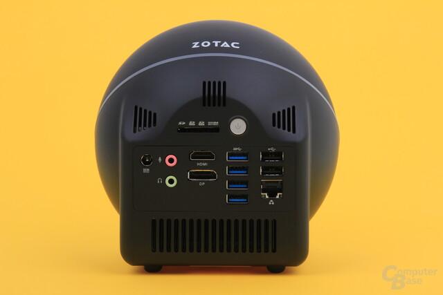 Zotac Zbox Sphere OI520 – Rückseite