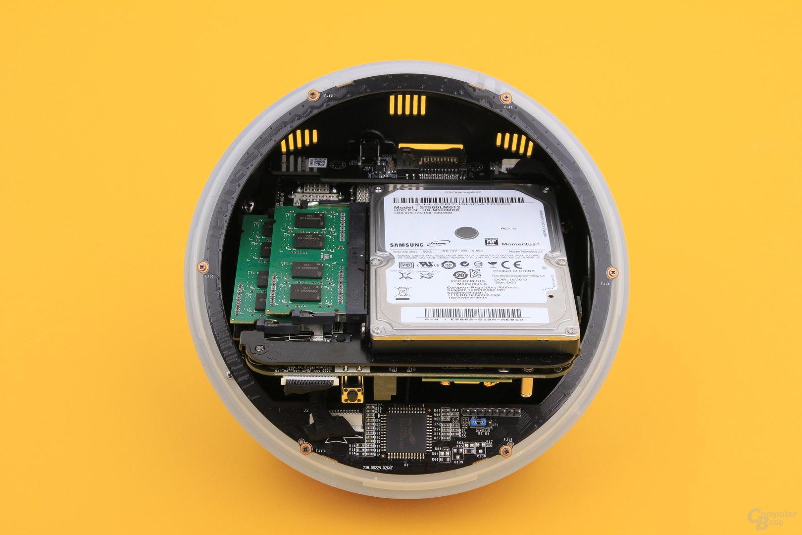 Zotac Zbox Sphere OI520 ohne Deckel