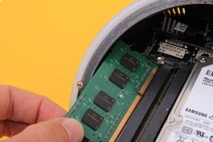Zotac Zbox Sphere OI520 – Speichereinbau