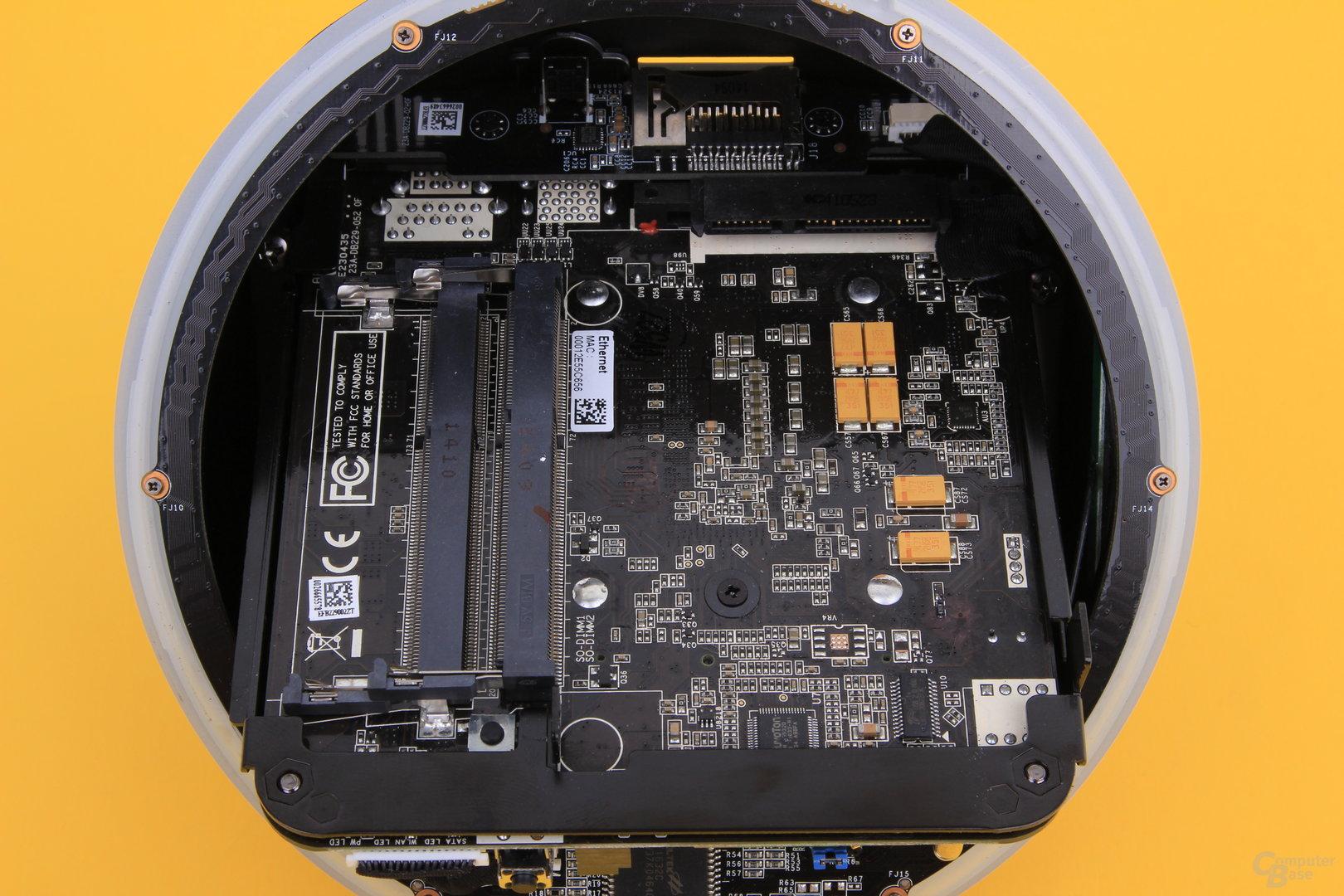 Zotac Zbox Sphere OI520 – Innenleben