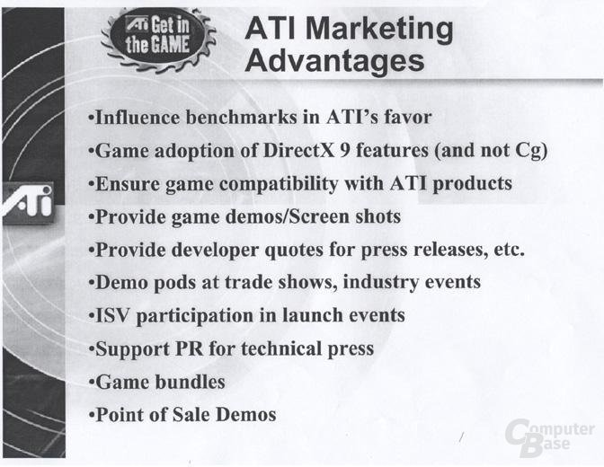 ATi Marketing Advantages