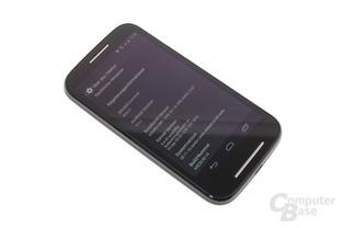 Motorola Moto E im Test: Assist / Alert / Android-Version
