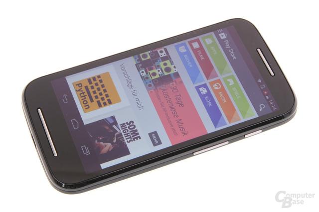 Motorola Moto E im Test: Google Play kämpft mit knappem Speicherplatz