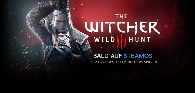 The Witcher 3 SteamOS-Ankündigung