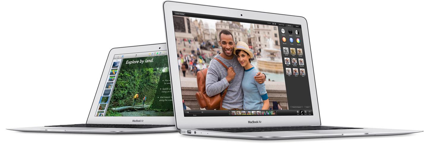 Apple MacBook Air in 11 und 13 Zoll