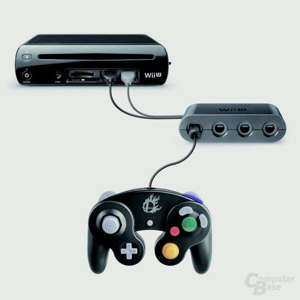 GameCube-Controller mittels Adapter an der Wii U