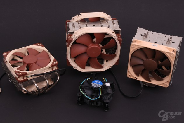Die verwendeten Luftkühler