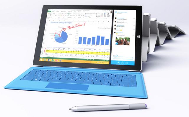 Microsoft Surface Pro 3 mit N-Trig-Stift