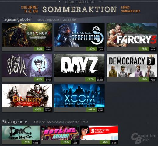 Steam Sommeraktion 2014