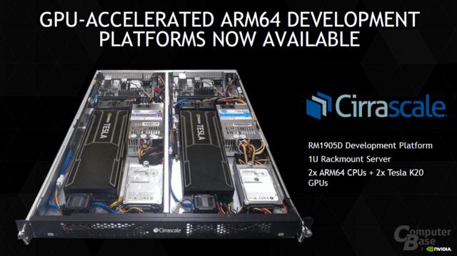 ARM und Nvidia auch in größeren Systemen