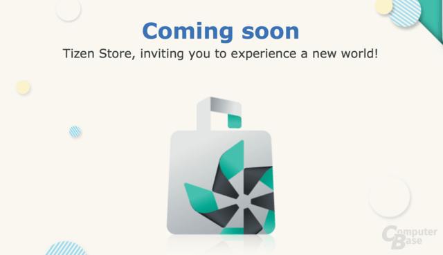 Kommt bald: der Tizen Store