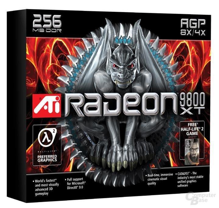Radeon 9800 XT Verpackung