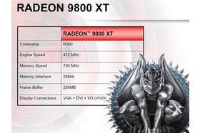 Radeon 9800 XT - techn. Merkmale