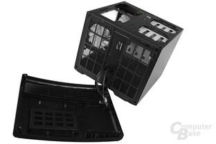 Fractal Design Node 804 - Front abgenommen